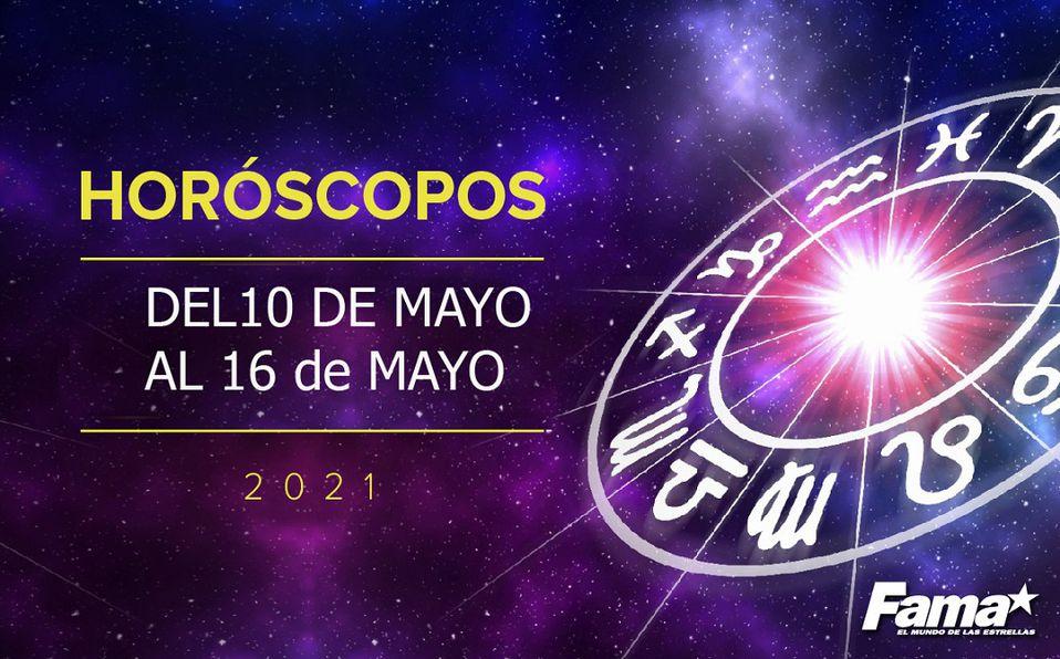 Horóscopo de hoy: Semana del 10 al 16 de mayo de 2021