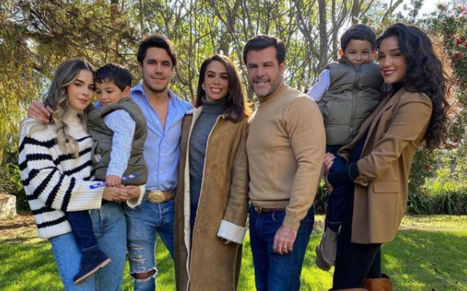 Eduardo Capetillo, ellos son todos sus hijos