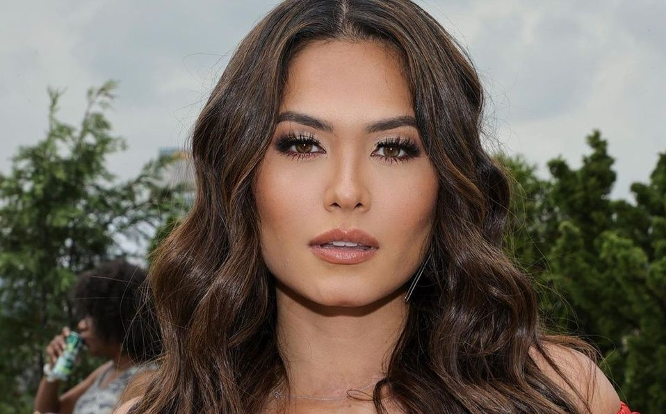 Andrea Meza luce más hermosa que nunca