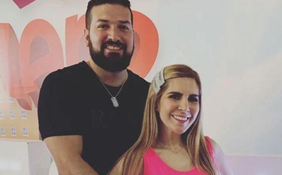 Américo Garza y Karla Panini