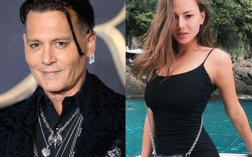 Johnny Depp y Polina Gen