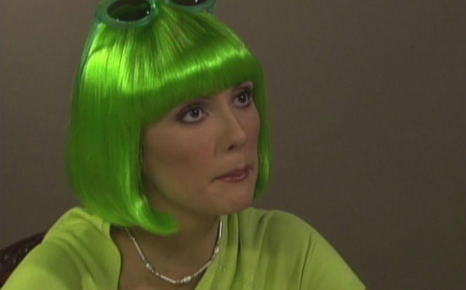 ¿Por qué la 'Tía Pelucas' usaba peluquines de colores en 'Carita de Ángel?