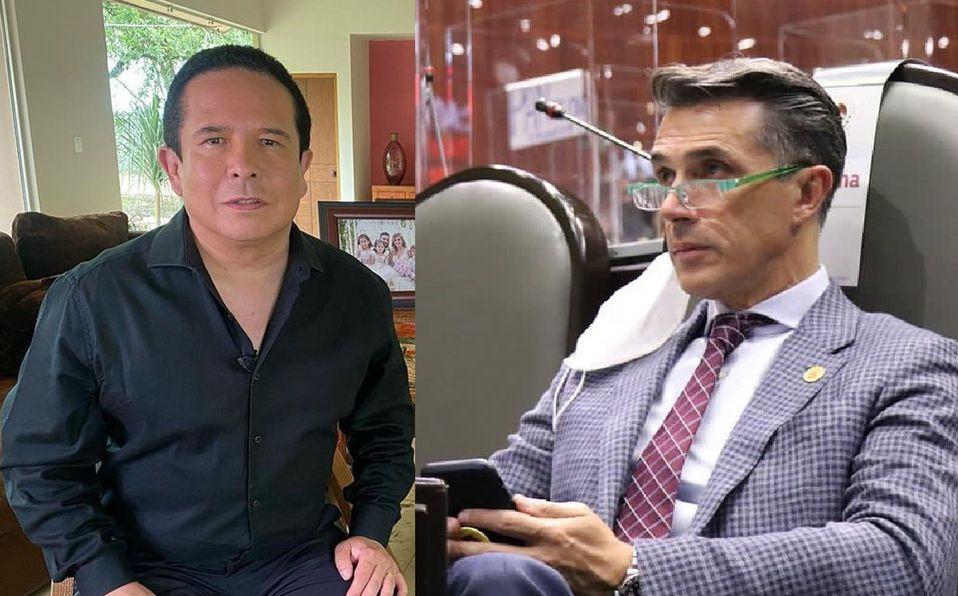 Gustavo Adolfo Infante y Sergio Mayer siguen en medio de la polémica