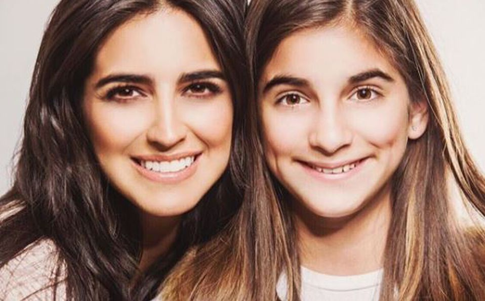 Alexa, la guapa hija de Bárbara de Regil ya creció