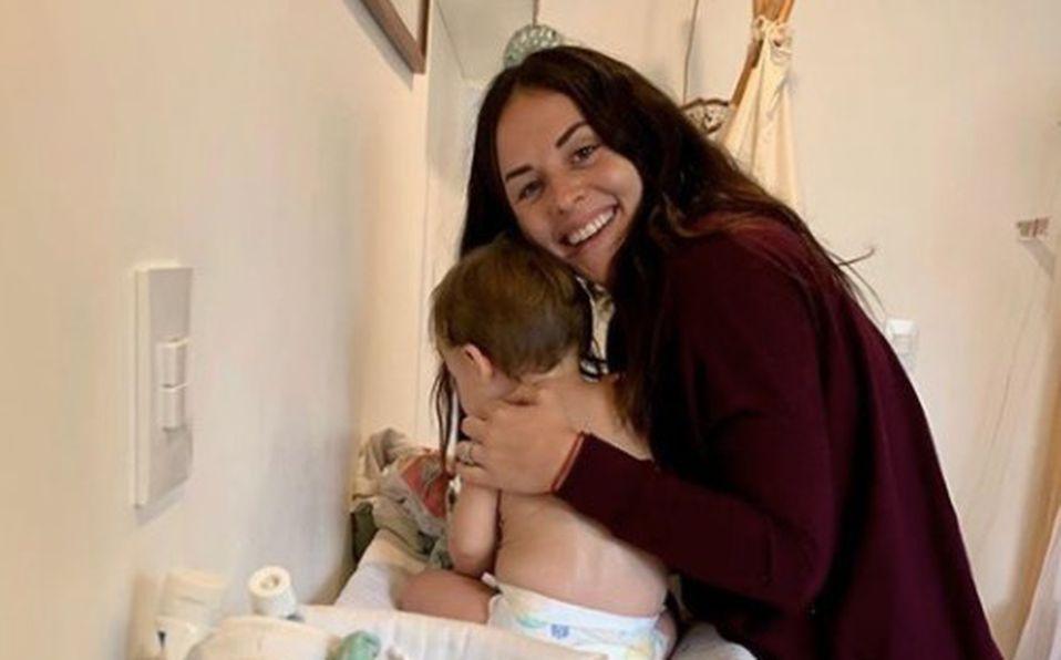 Luka, hijo de Zuria Vega cumplió un año