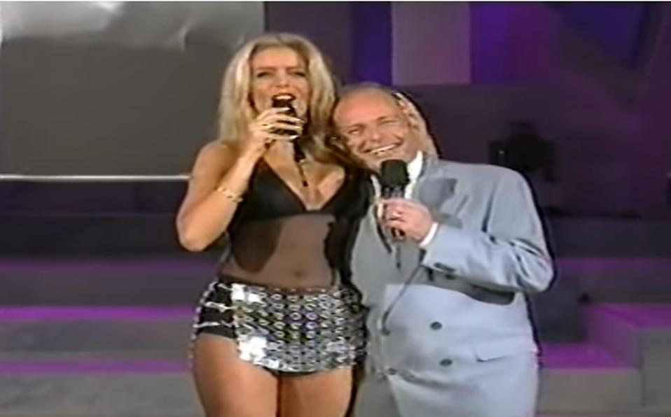 Así fue el incómodo momento entre Lorena Herrera y Raúl Velasco en TV (Captura de pantalla).