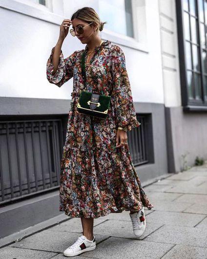10 Formas De Usar Vestidos Largos Este Otoño