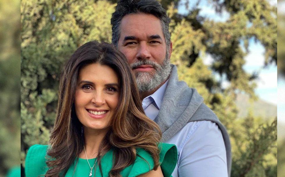 Mayrín Villanueva y Eduardo Santamarina cumplieron 11 años de casados (Instagram).