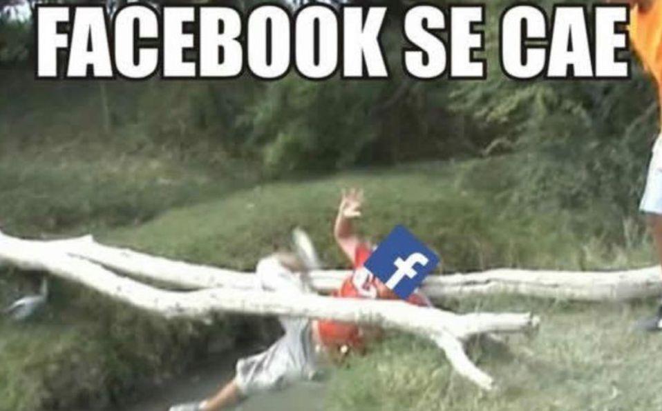 Caída de Facebook e Instagram, memes
