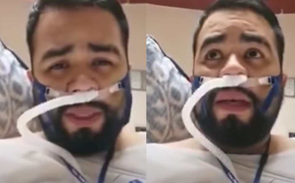 Enfermero mexicano graba emotivo mensaje antes de morir por covid-19