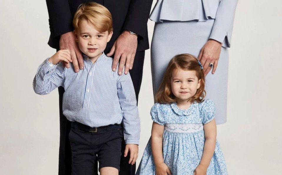 Príncipes George y  Charlotte
