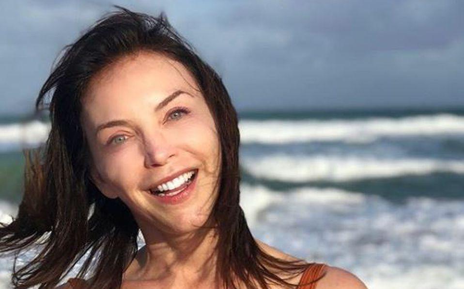 María, la guapa hija de Laura Flores que es idéntica a la actriz
