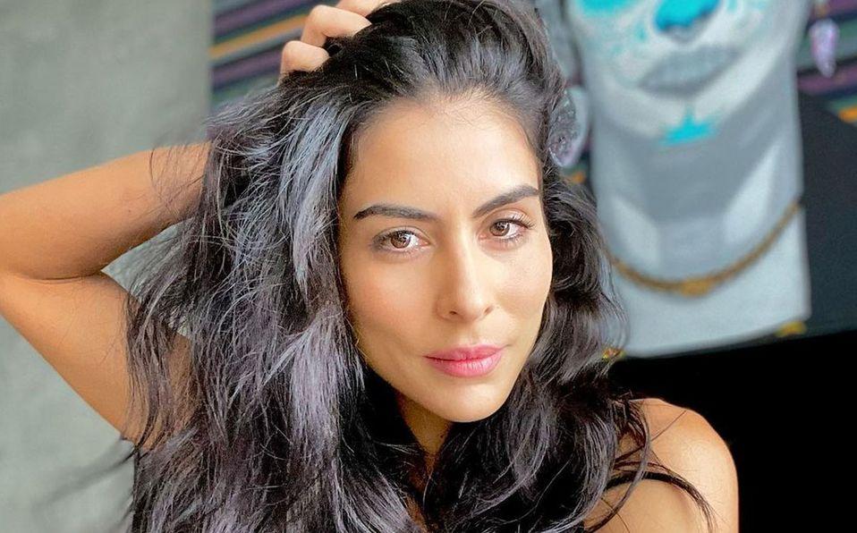 María León deslumbró con su look (Instagram).