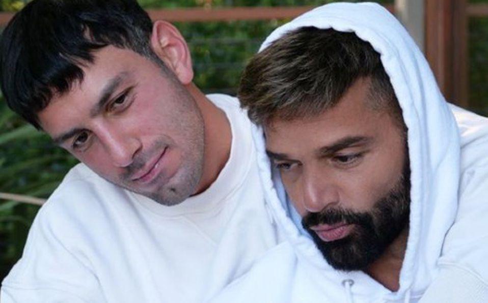 Ricky Martín y Jwan Josef