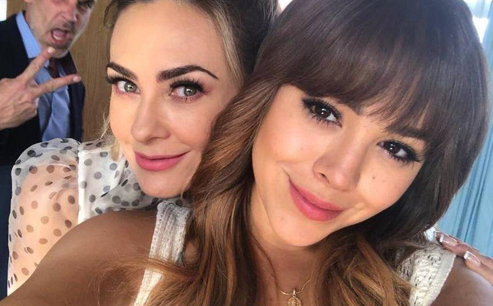 Aracely Arámbula y Danna Paola compartieron créditos en 'La Doña' (Instagram).