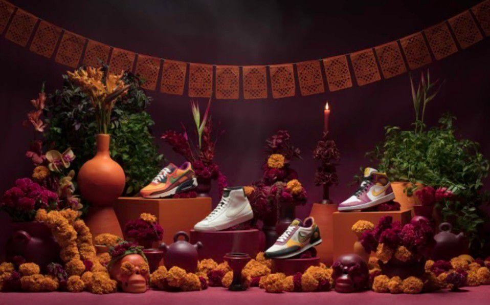 Marca de tenis lanza una increíble colección inspirada en Día de Muertos