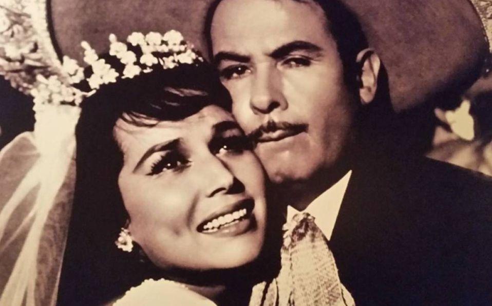 Flor Silvestre y Antonio Aguilar estuvieron casados durante más de cinco décadas (Captura de pantalla).
