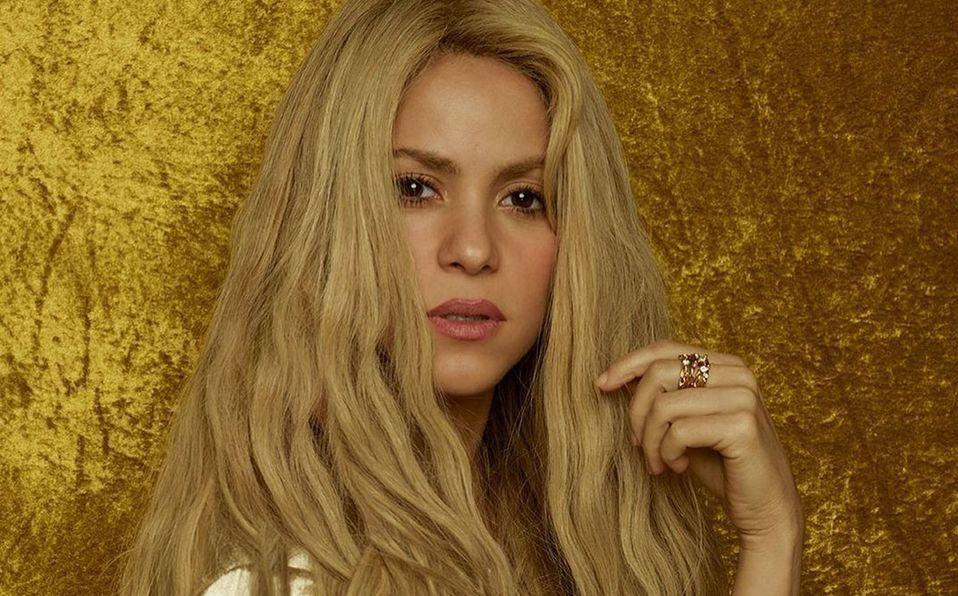 Shakira cambió el color de su cabello (Instagram).