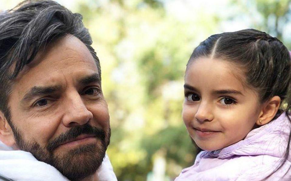 Eugenio y Aitana Derbez