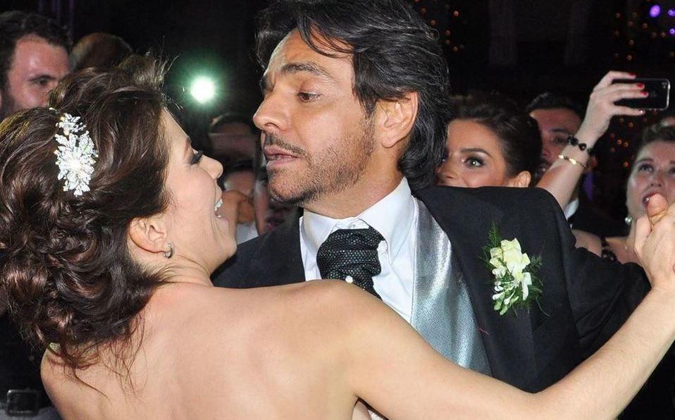 Eugenio Derbez y Alessandra Rosaldo recordaron su boda celebrada hace ochos años (Instagram).