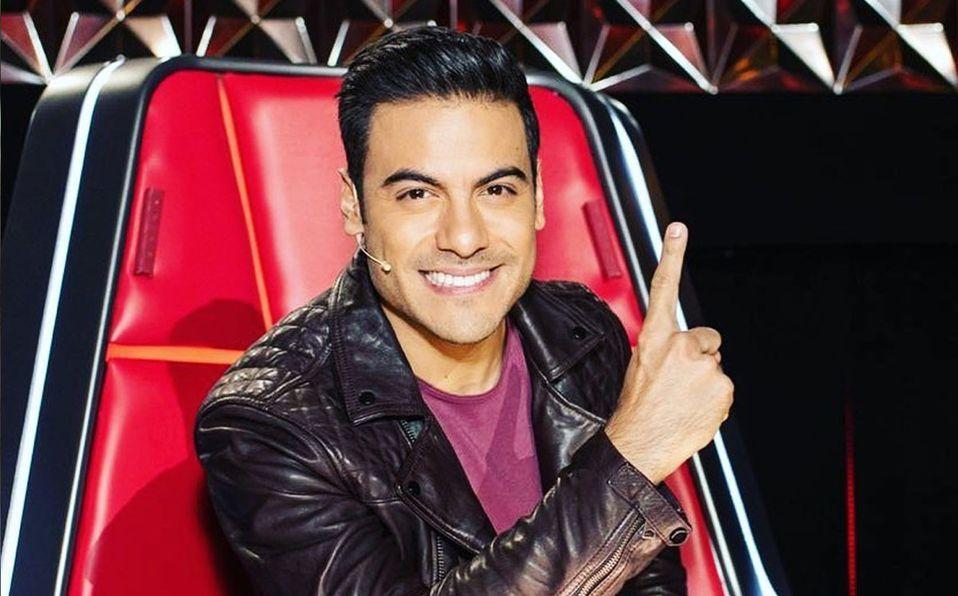 Así de diferente se veía Carlos Rivera cuando hizo casting para 'La Academia' (Instagram).