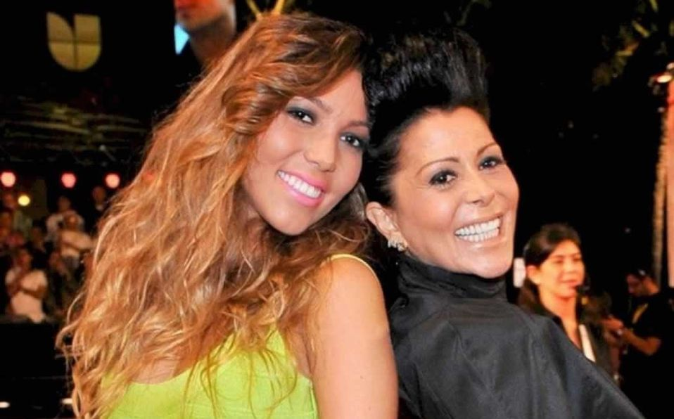 Frida Sofía y Alejandra Guzmán