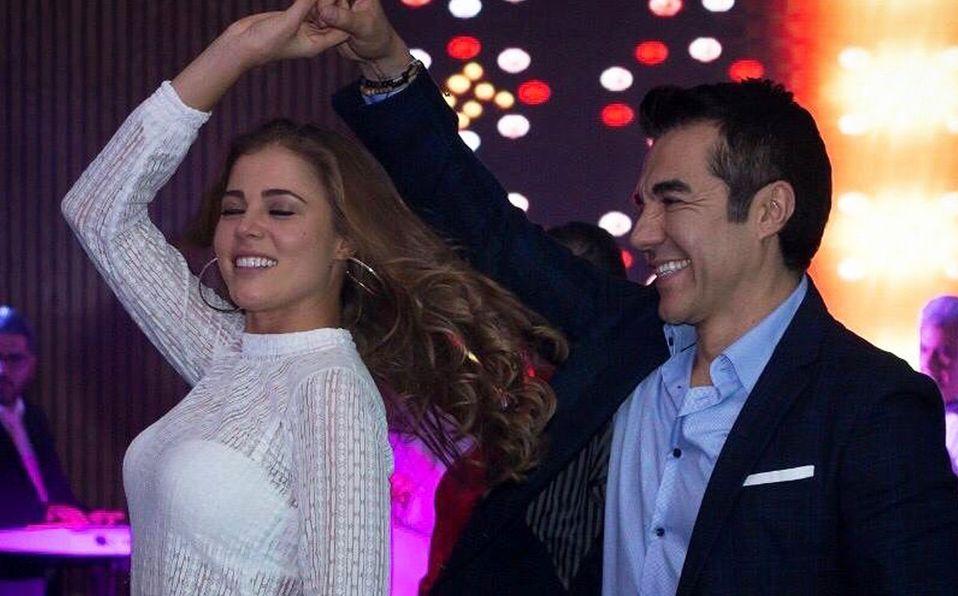 Adrián Uribe y Thuany Martins se casaron este fin de semana (Instagram).