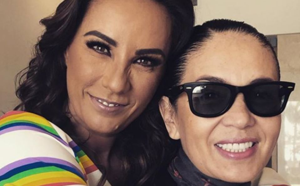 Consuelo Duval habla de su relación con Yolanda Andrade