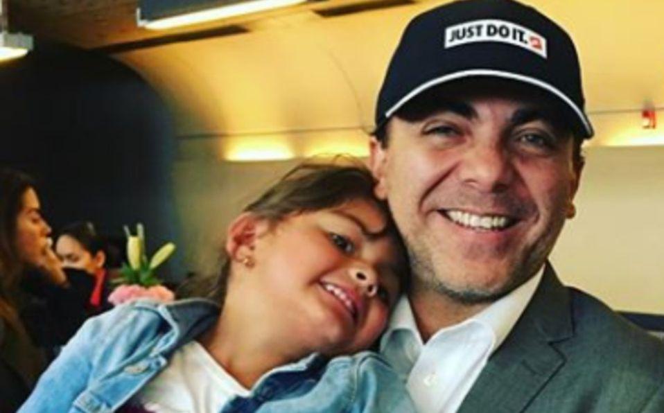 Cristian Castro: su hija Rafaela luce idéntica a su madre