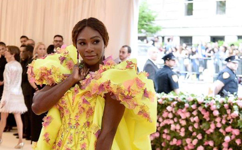 Serena Williams llegó con tenis a la MET Gala 2019