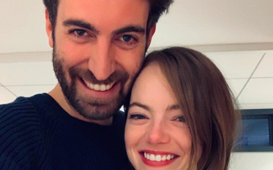 Emma Stone se va a casar y así lo anunció en Instagram