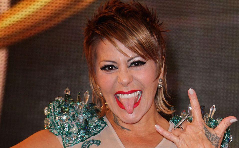 Alejandra Guzmán impresionó con su baile (Getty).