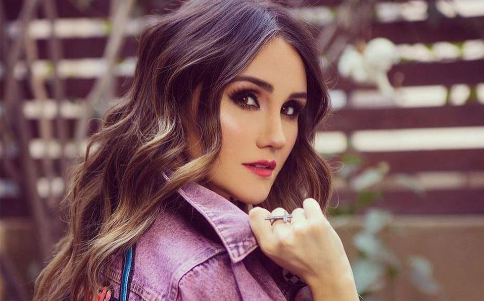 Dulce María apareció en 'Plaza Sésamo' cuando era niña (Instagram).