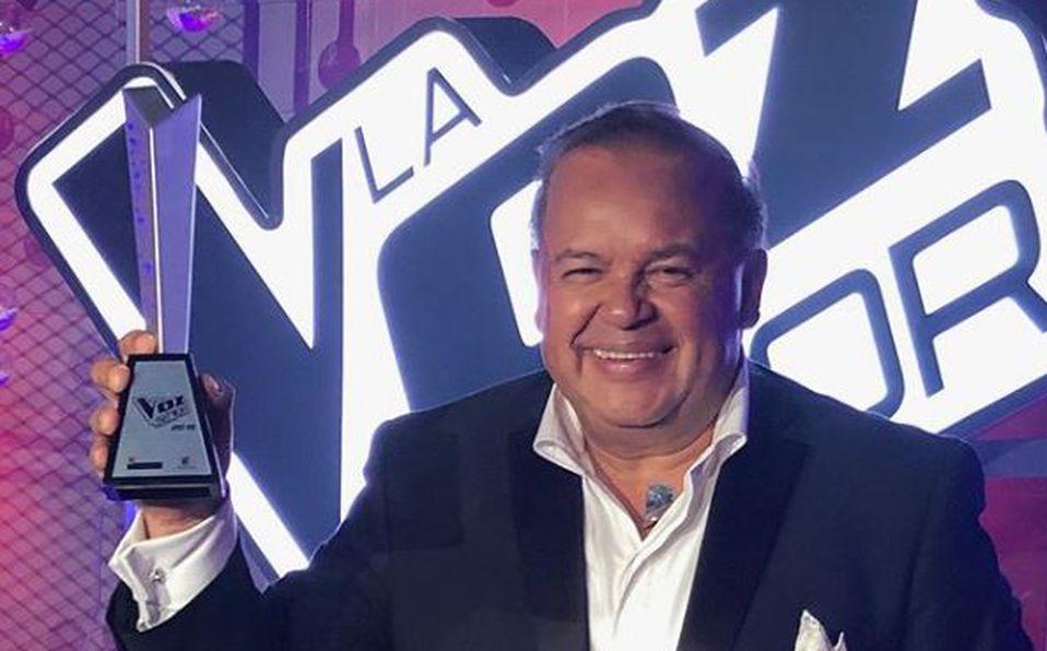 Salvador Rivera, ganador de La Voz Senior, primera temporada
