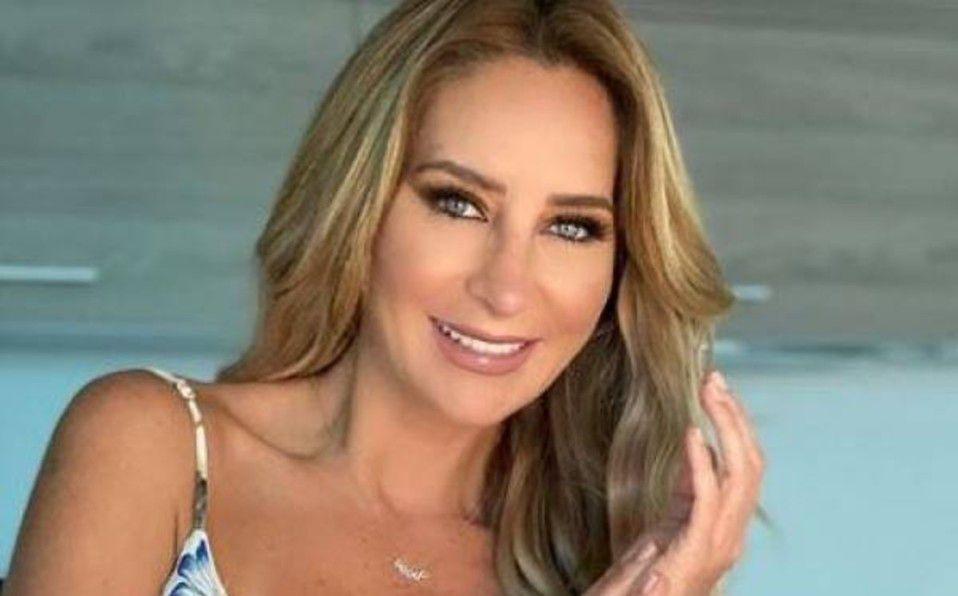 Geraldine Bazán presume la belleza de su familia