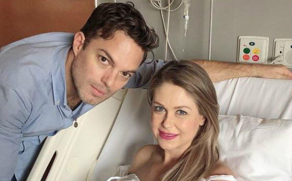 Ingrid Martz comparte la primera foto de su hermosa bebé y no puede ser más hermosa