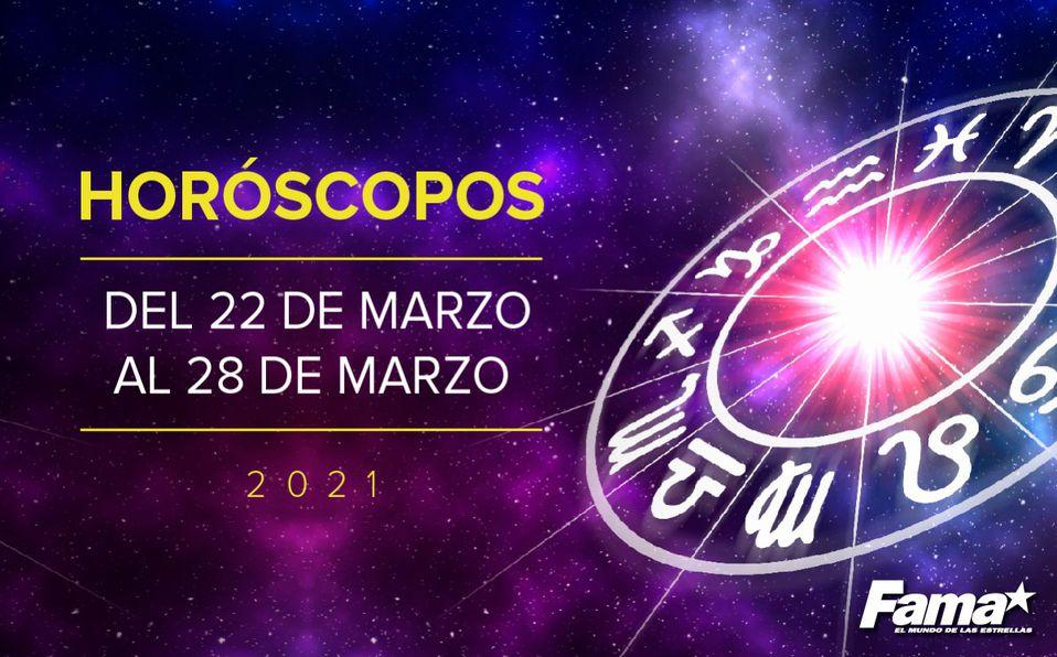 Horóscopo de hoy: Semana del 22 al 28 de marzo de 2021