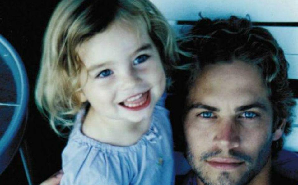Meadow, ella es la hija de Paul Walker de Rápidos y Furiosos