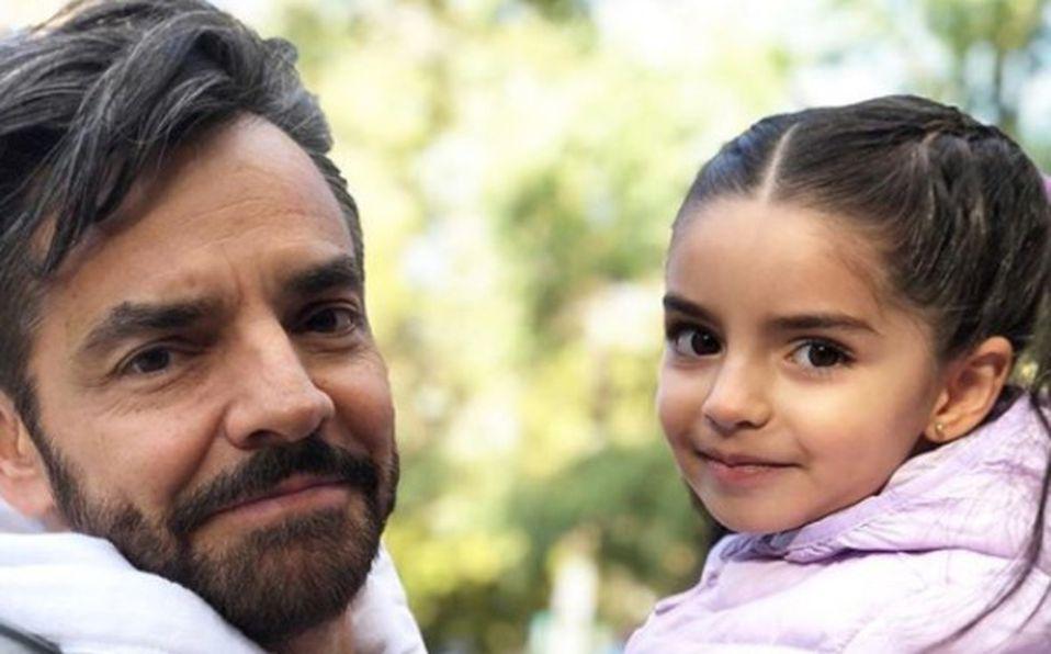 Aitana y Eugenio Derbez