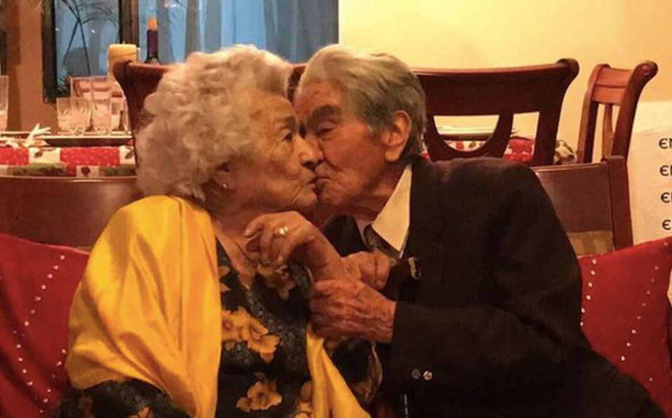 Matrimonio rompe Récord Guinness como pareja longeva