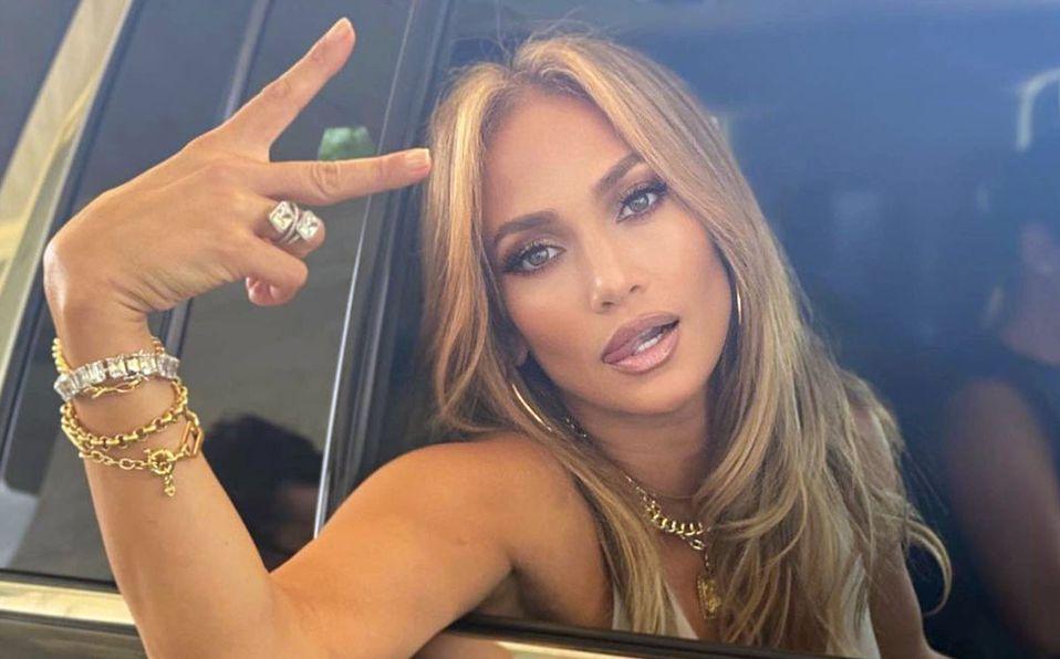 Jennifer Lopez impresionó a todos con su rostro al natural (Instagram).