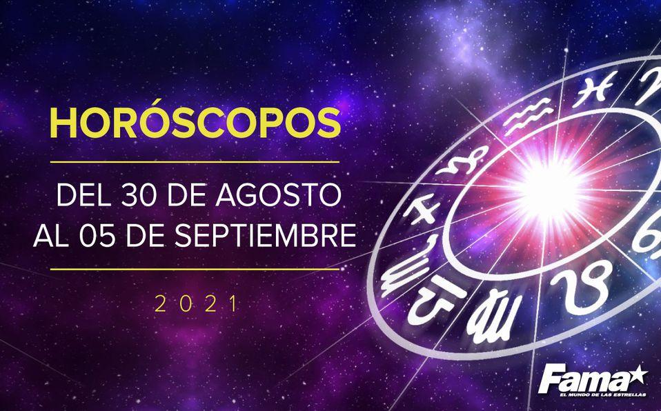 Horóscopo de hoy: Semana del 30 de agosto al 5 de septiembre de 2021
