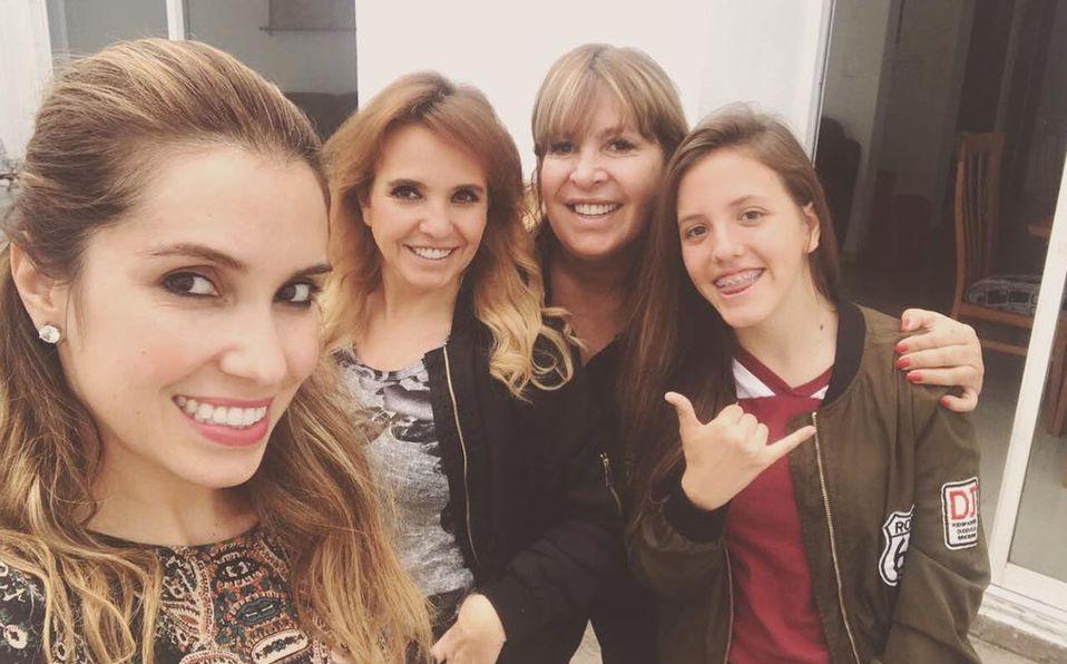 Paulina González es muy unida a su familia (Instagram).