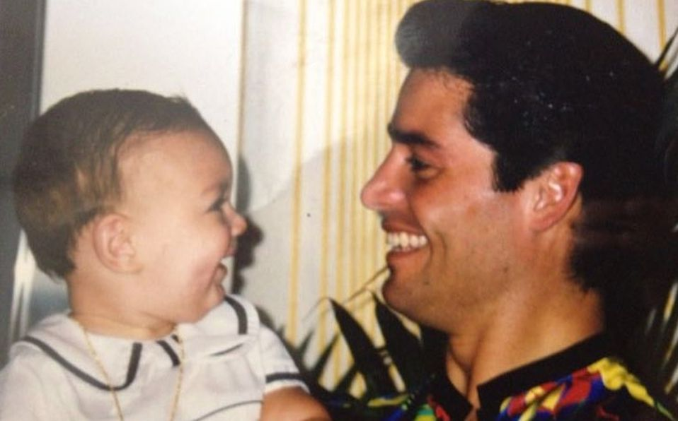 Chayanne y su hijo