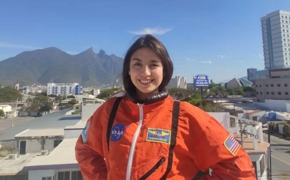 Nathalie Vilchis, la estudiante mexicana que está a punto de la NASA
