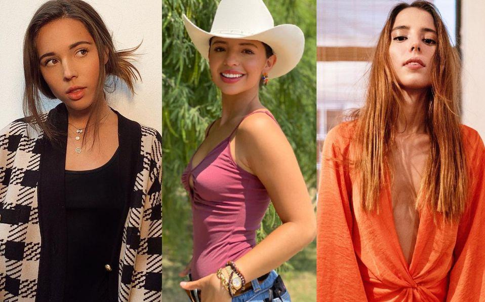 Aneliz,  Angela y Majo Aguilar heredaron la belleza de su abuela Flor Silvestre