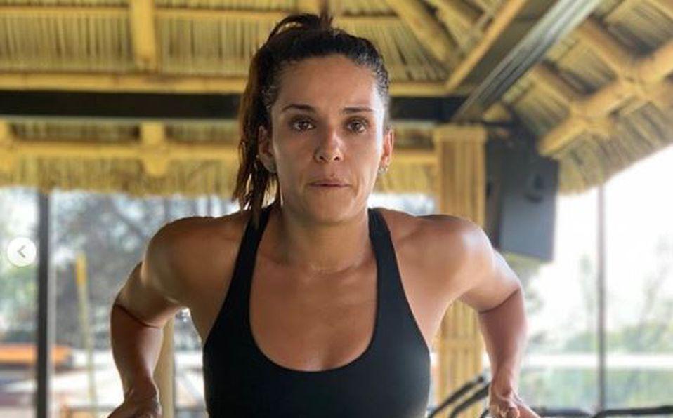 Tania Rincón mostró su marcado abdomen en Instagram