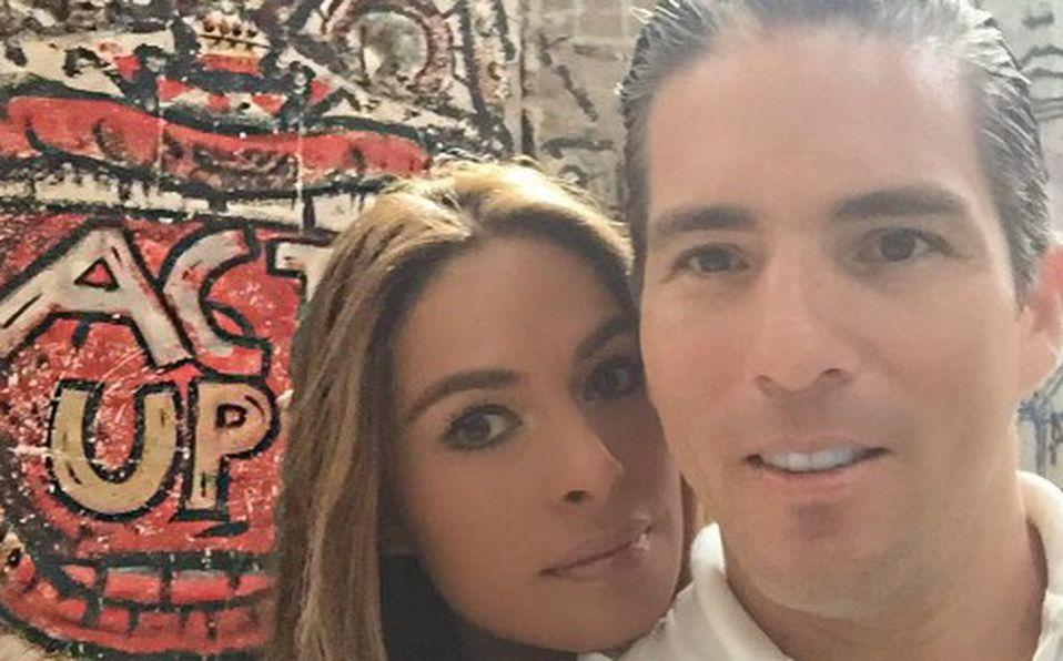 Galilea Montijo y Fernando Reina
