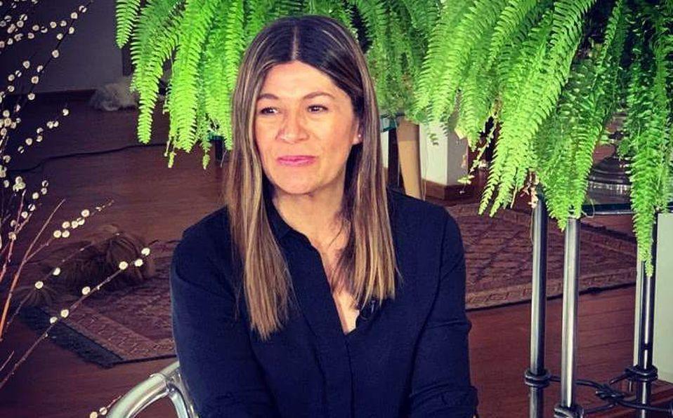 Martha Figueroa vivió un momento incómodo durante el programa en vivo (Instagram).
