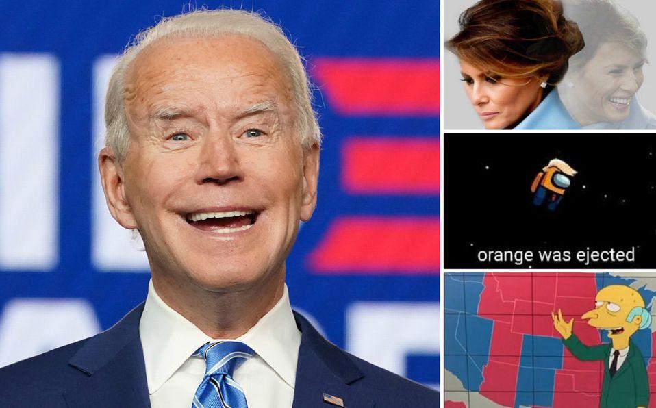 Los mejores memes de las elecciones (Reuters y Twitter).